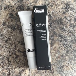 Brand new Dr Brandt Triple Peptide eye cream